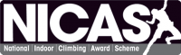 Christmas gift voucher NICAS National Indoor Climbing Award Scheme