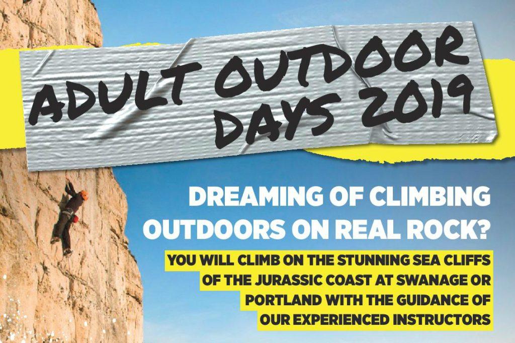 Adult Outdoor Climbing days
