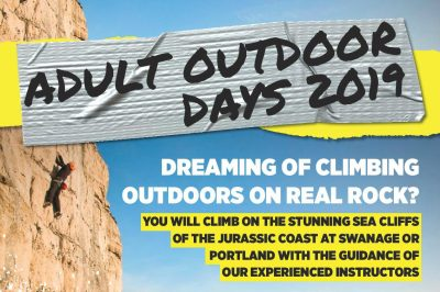 Adult Outdoor Climbing days
