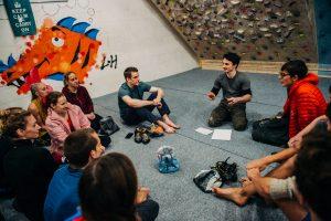 Fitness classes: climbing coaching