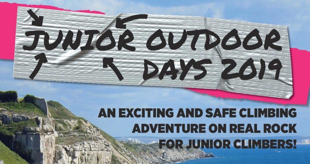 Junior outdoor climbing adventure