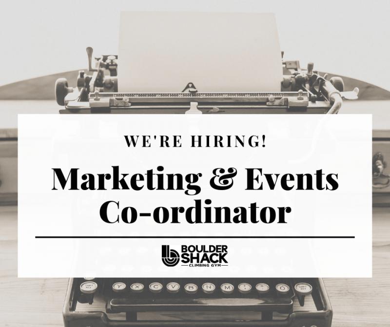 Boulder Shack is hiring!