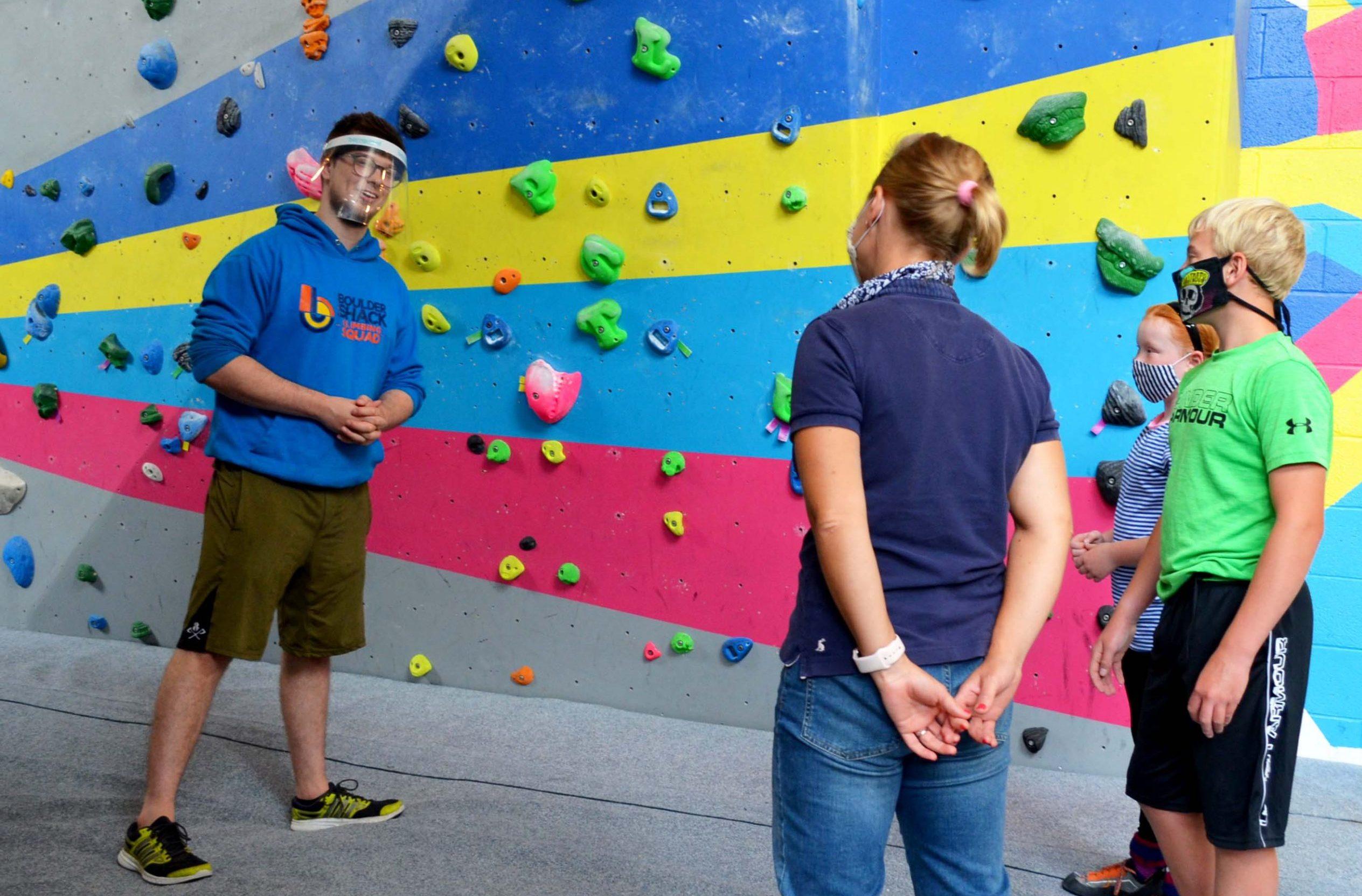 Induction Plus Boulder Shack Southampton Climbing Gym