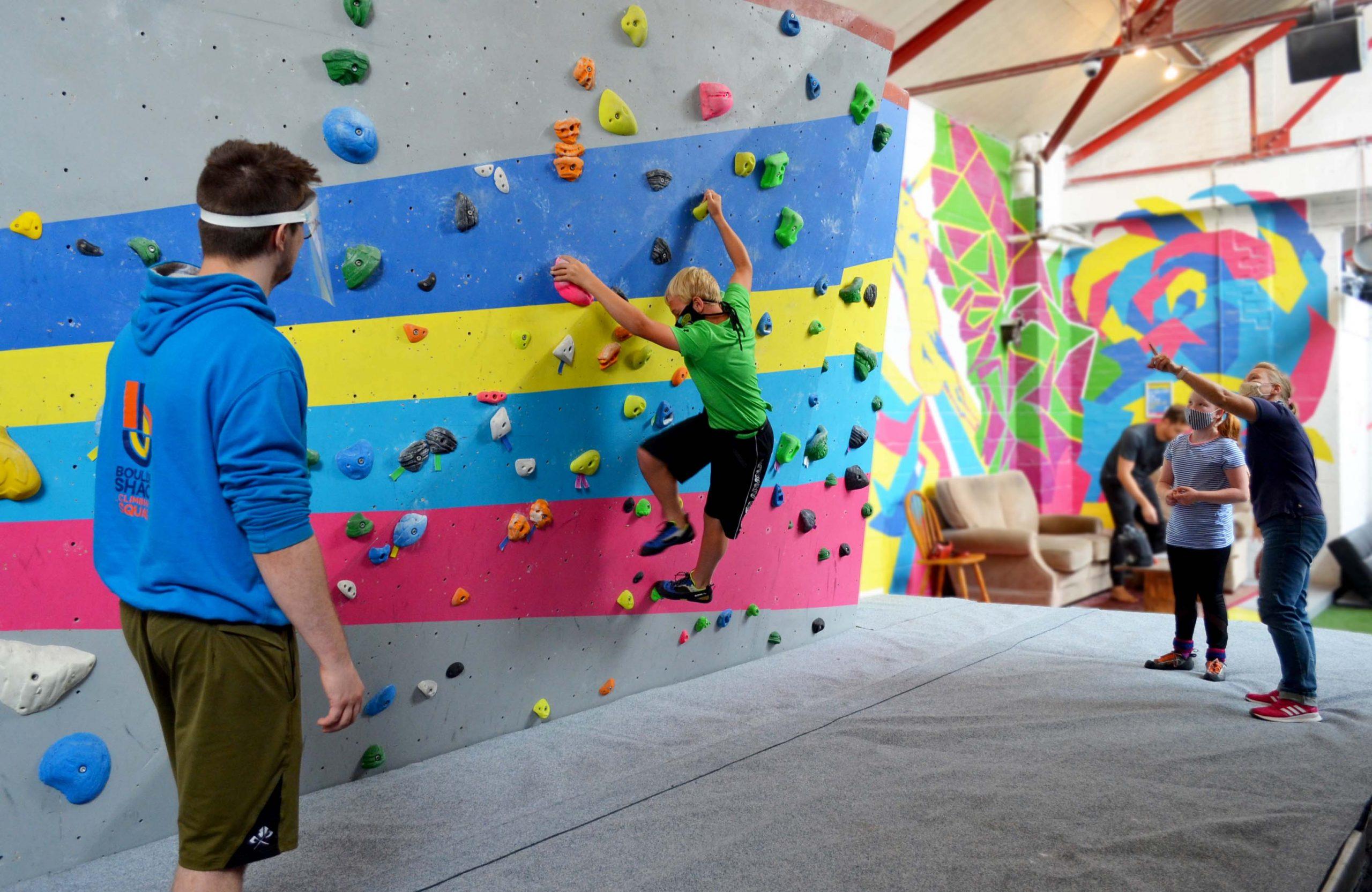 Induction Plus Boulder Shack