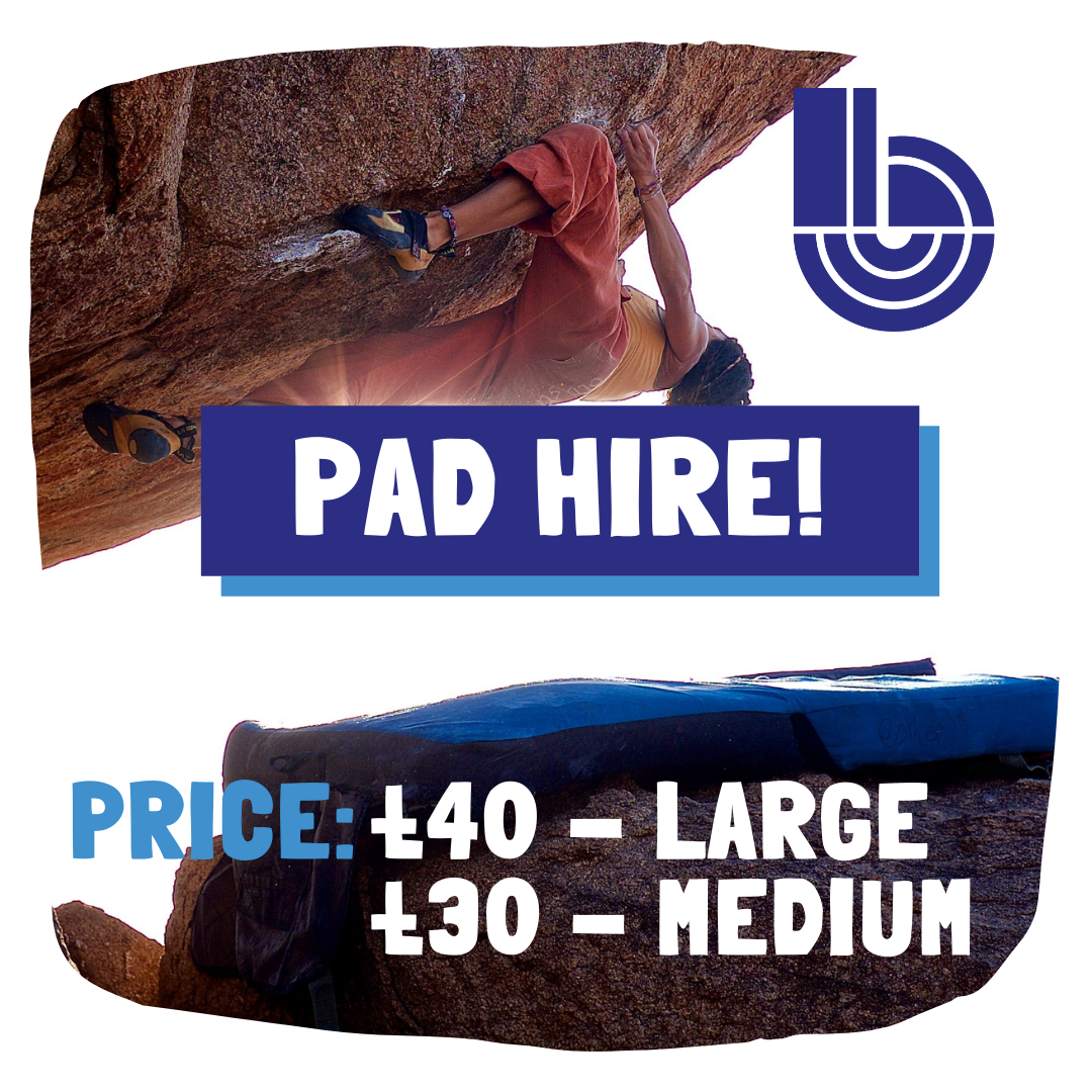 Boulder Shack bouldering pads mats southampton climbing gym